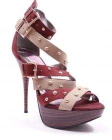 Sandale cu toc ZANDRA RHODES